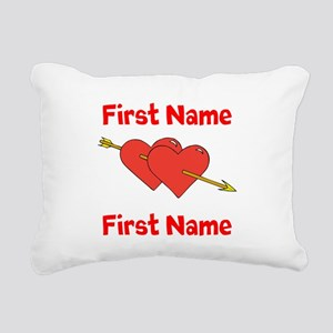 Loves Rectangular Canvas Pillow