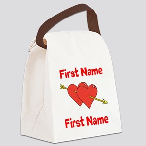 Loves Canvas Lunch Bag