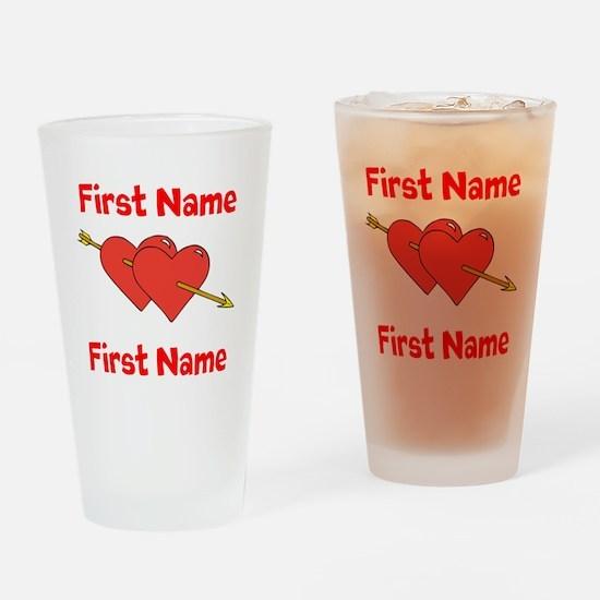 Loves Drinking Glass