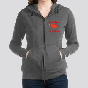 Loves Women's Zip Hoodie