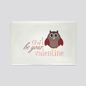 Owl Be Your Valentine Magnets