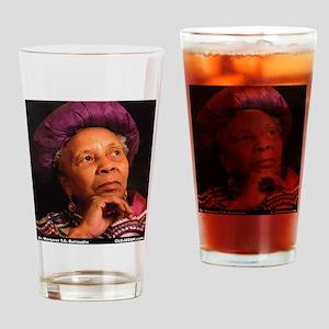 Dr Margaret Burroughs Drinking Glass