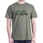Vietnam Vet 1974 Dark T-Shirt