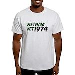 Vietnam Vet 1974 Light T-Shirt