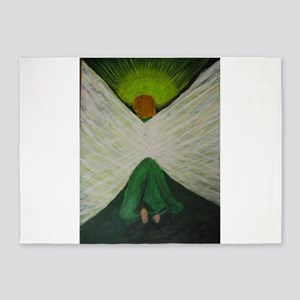 Green Angel Rahael 5'x7'Area Rug