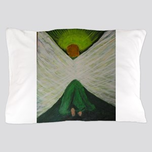 Green Angel Rahael Pillow Case