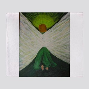Green Angel Rahael Throw Blanket