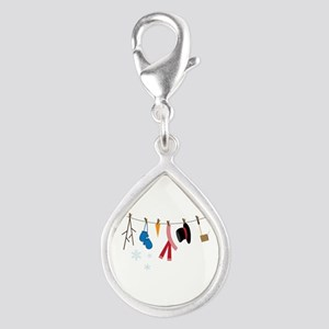 Snowman Clothing Charms