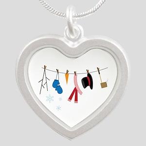 Snowman Clothing Necklaces