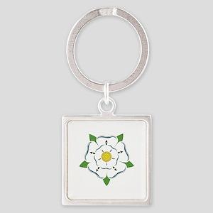Heraldic Rose Keychains
