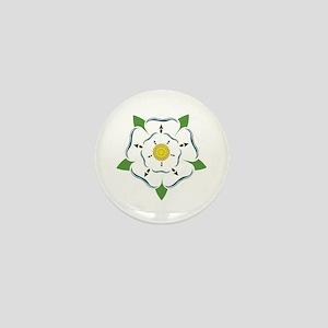 Heraldic Rose Mini Button