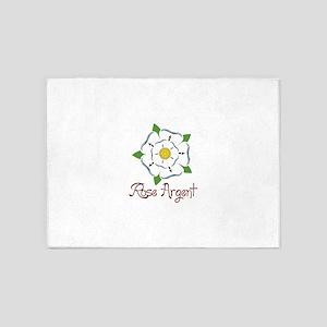 Rose Argent 5'x7'Area Rug