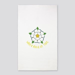 Rose Of York 3'x5' Area Rug