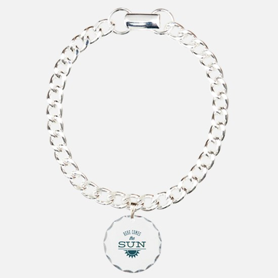 Here comes the sun Charm Bracelet, One Charm