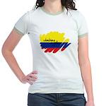 Colombiana Orgullosa Jr. Ringer T-Shirt