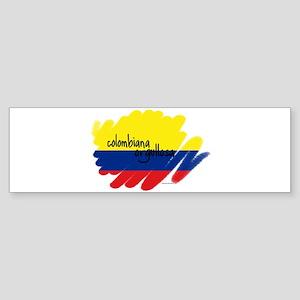 Colombiana Orgullosa Bumper Sticker