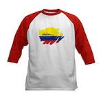 Colombiana Orgullosa Kids Baseball Jersey