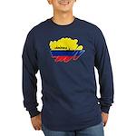 Colombiana Orgullosa Long Sleeve Dark T-Shirt