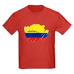 Colombiana Orgullosa Kids Dark T-Shirt