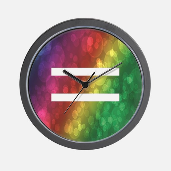 Equalrights1 Wall Clock