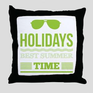Best summer time Throw Pillow