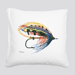 Fly2 Square Canvas Pillow