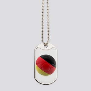 Germany world cup ball Dog Tags