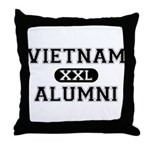 VIETNAM ALUMNI Throw Pillow