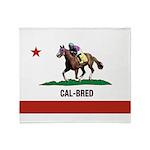 Cal-Bred Brand Throw Blanket