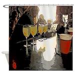 Bar Scene Absinthe New Orleans Shower Curtain