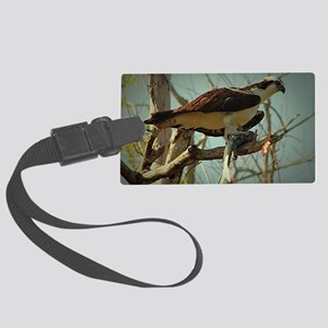 Osprey Having Lunch Large Luggage Tag