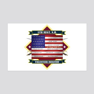 5th New Hampshire Volunteer Infantry Wall Decal