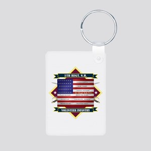 5th New Hampshire Volunteer Infantry Keychains