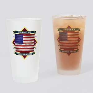 5th New Hampshire Volunteer Infantry Drinking Glas