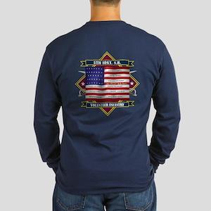 5th New Hampshire Volunteer Long Sleeve T-Shirt