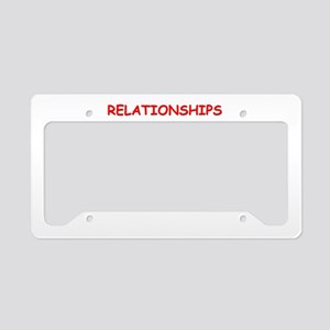 give and take License Plate Holder