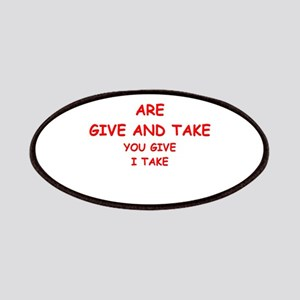 give and take Patches
