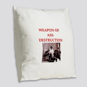 bdsm Burlap Throw Pillow
