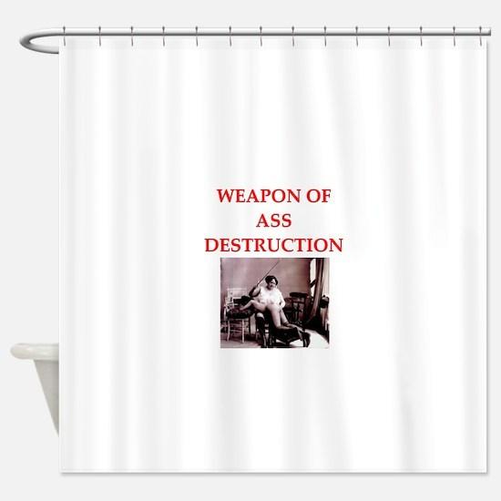 bdsm Shower Curtain