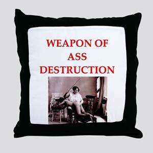 bdsm Throw Pillow