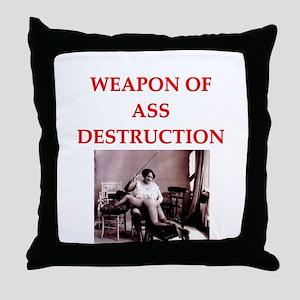 bdsm Throw Pillow