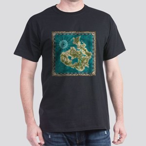 Pirate Adventure Map T-Shirt