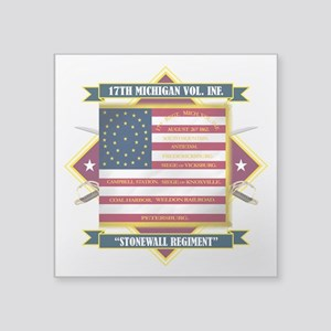 17th Michigan Volunteer Infantry Sticker