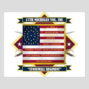 17th Michigan Volunteer Infantry Posters