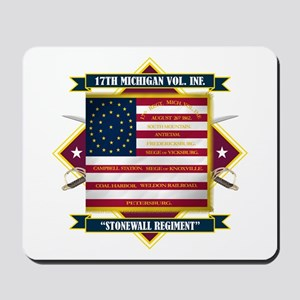 17th Michigan Volunteer Infantry Mousepad
