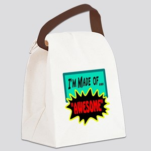 Im Made Of Awesome Canvas Lunch Bag