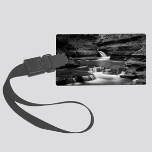 Butter Milk Falls Large Luggage Tag