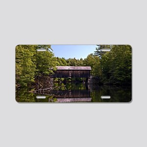 Windham Covered Bridge Aluminum License Plate