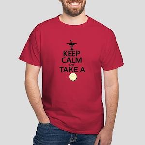 Keep Calm and Take a Chill Pill Dark T-Shirt