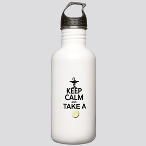 Keep Calm and Take a C Stainless Water Bottle 1.0L